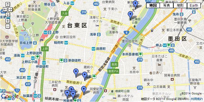 はじめての浅草と浅草橋のレザーショップ革屋さん巡り(まとめ)