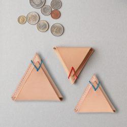 ☁コインケース▲三角