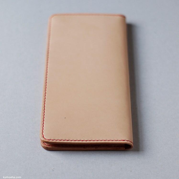 kumosha's full handstitched long wallet01