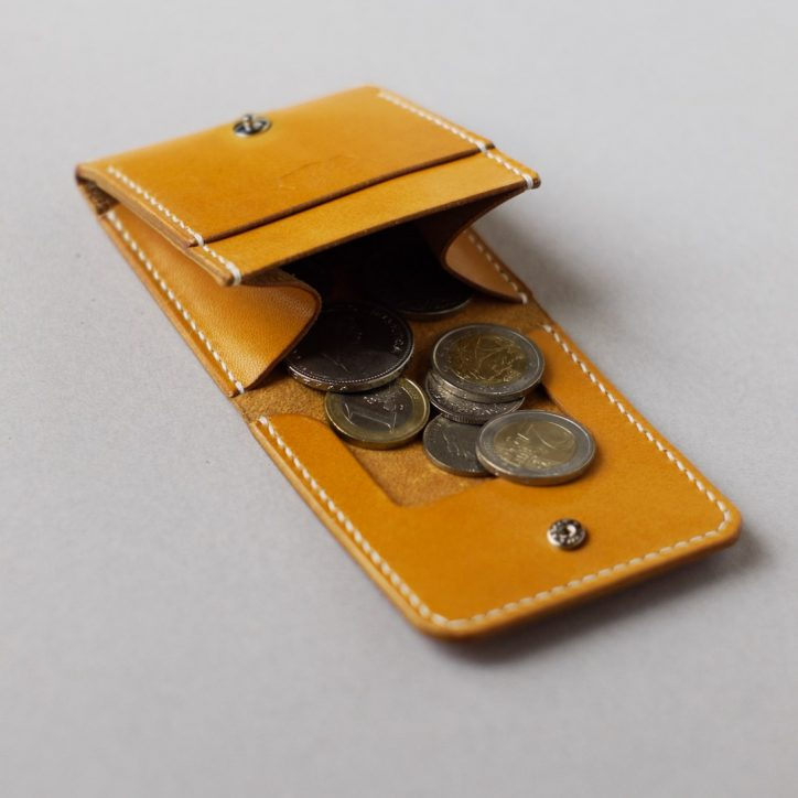 kumosha hand stitched leather coin case 02
