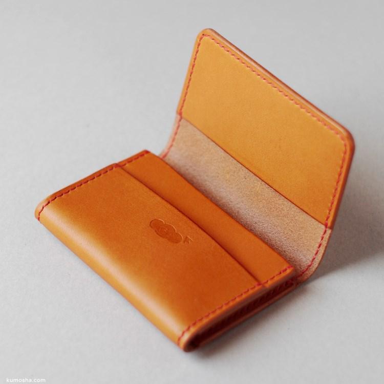 kumosha's hand stitched leather card case02