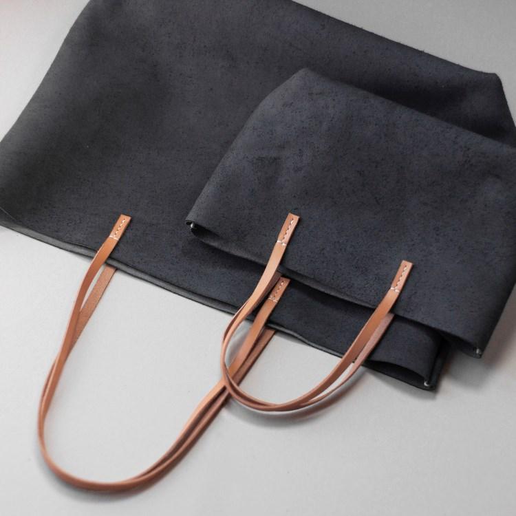 kumosha's leather tote bag gyomuA