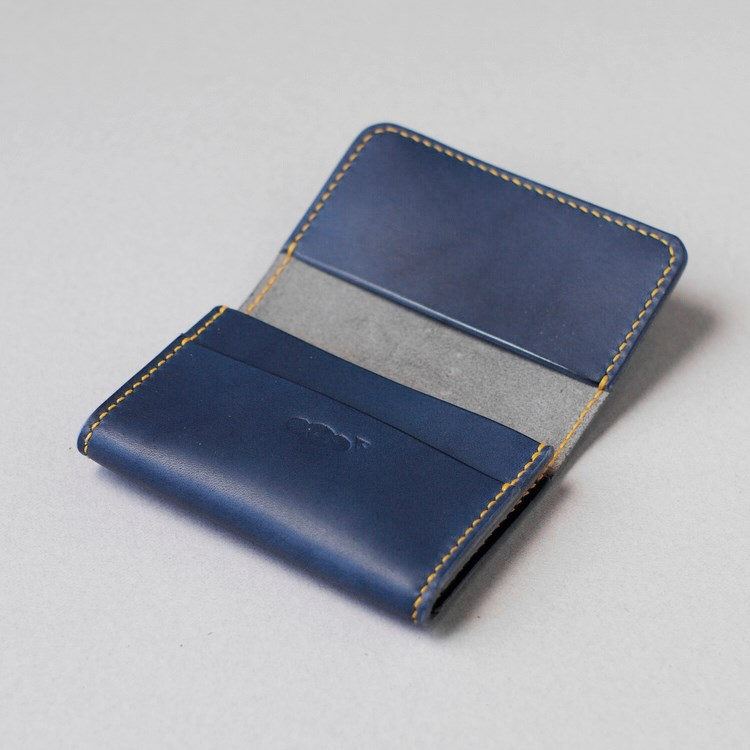 kumosha's hand stitched leather card case 02
