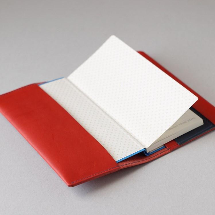kumosha hand stitched leather Hobonichi Weeks cover
