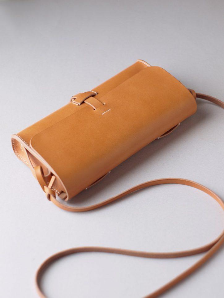 kumosha hand stitched leather bag mimi