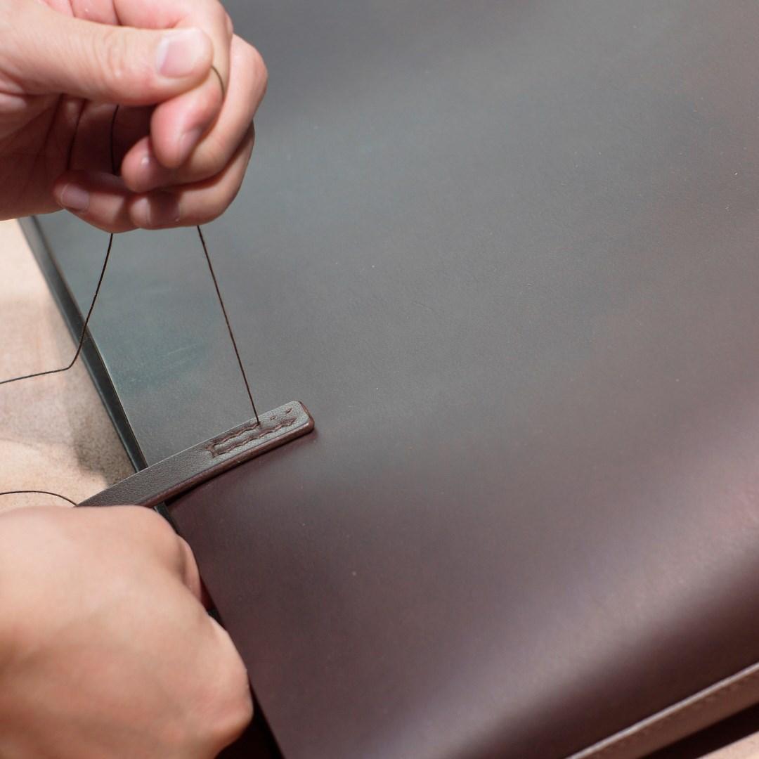 手縫いのやわらかいトートバッグ完成しました
