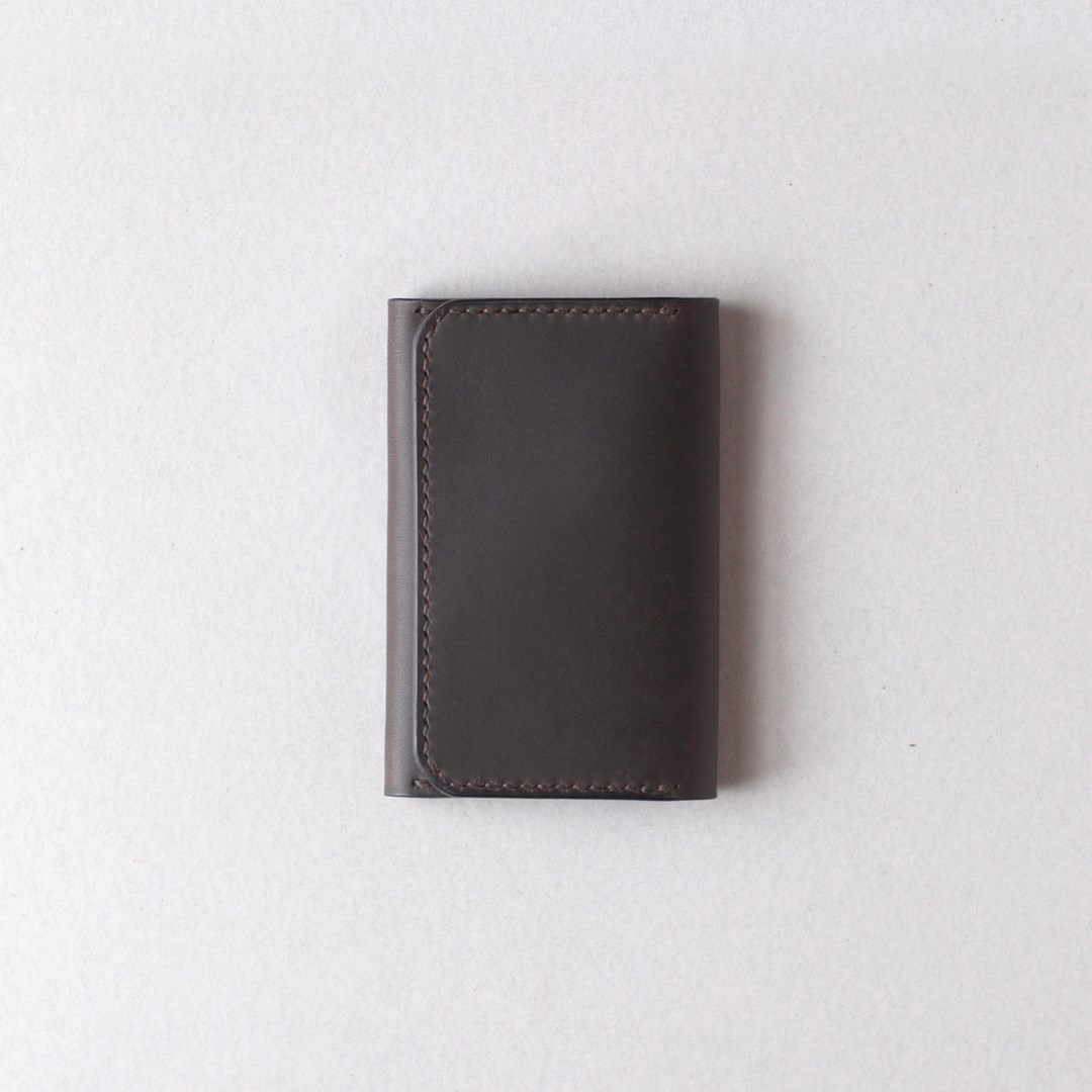kumosha hand stitched leather cardcase