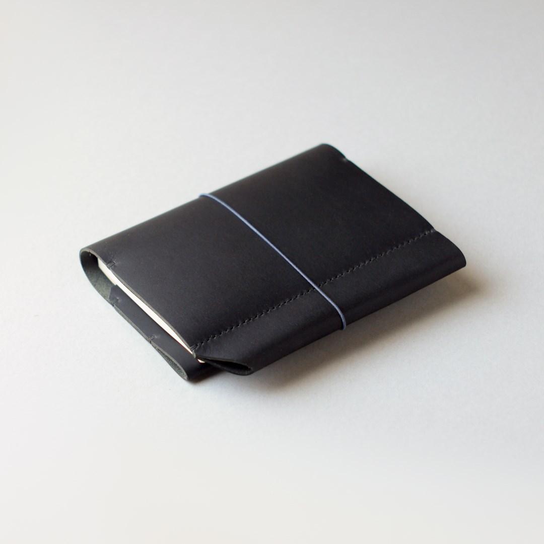 kumosha hand stitched leather hobonichi techo cover type 01