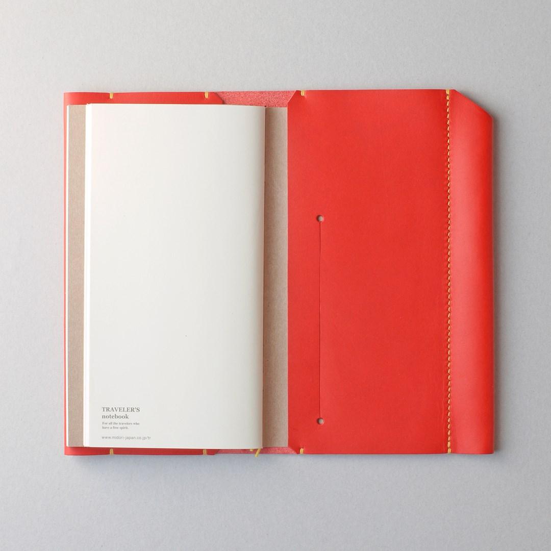 kumosha hand stitched leather travelars note book cover type 01