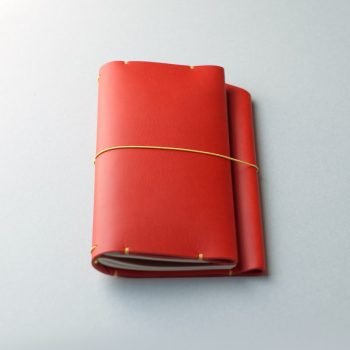 kumosha hand stitched leather travelars note book cover type 01