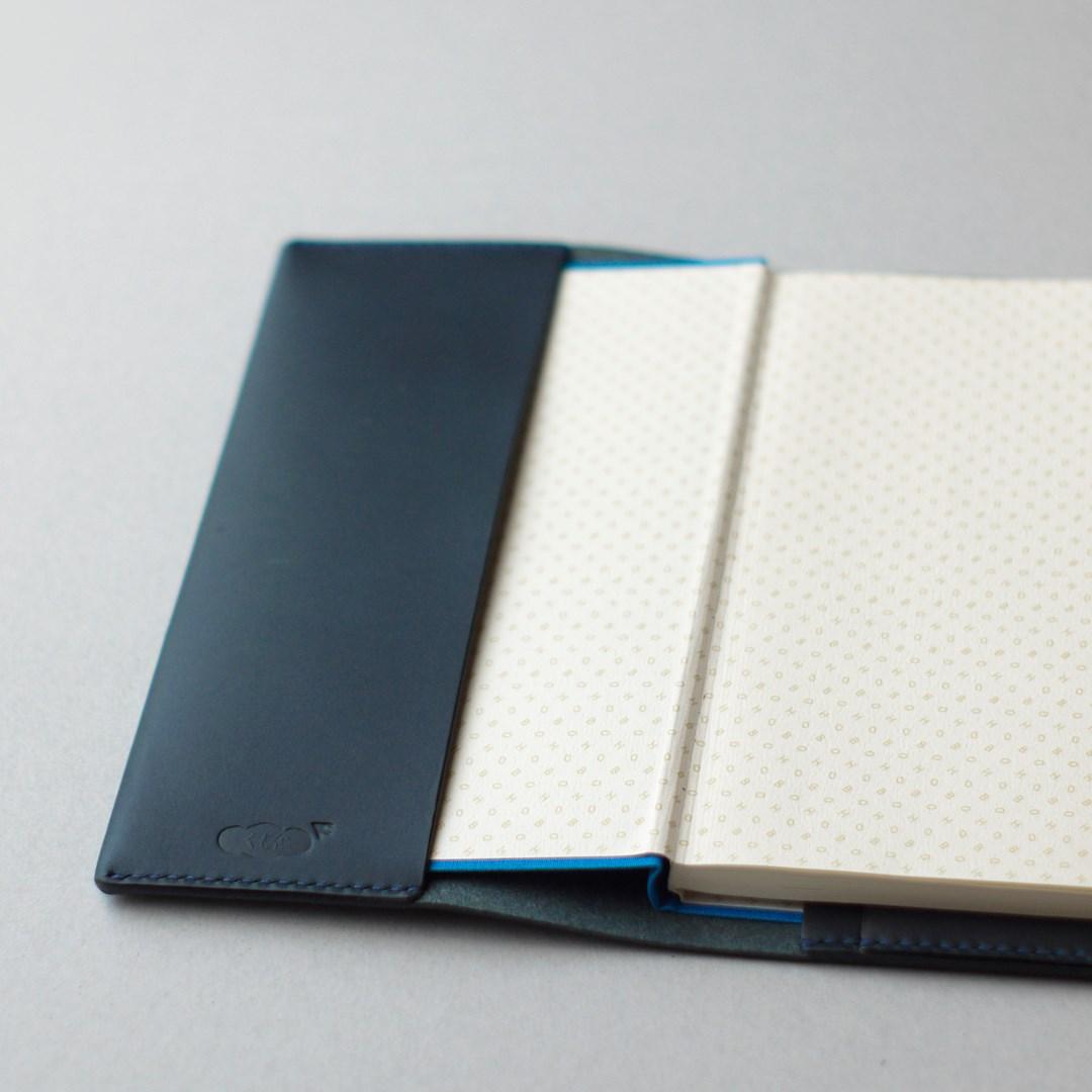 kumosha hand stitched leather note book cover hobonichi weeks-053