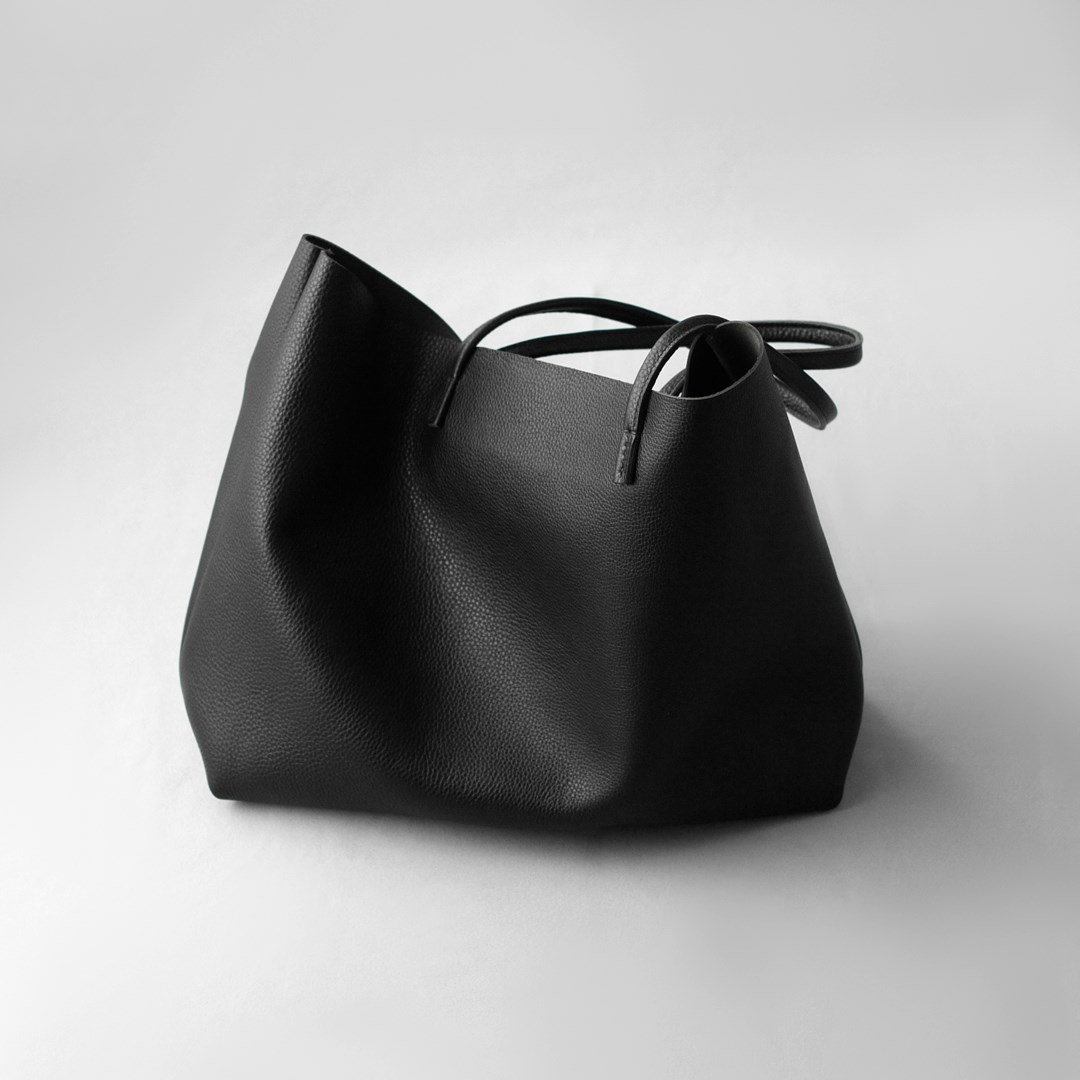 kumosha hand stitched leather totebag proA SL