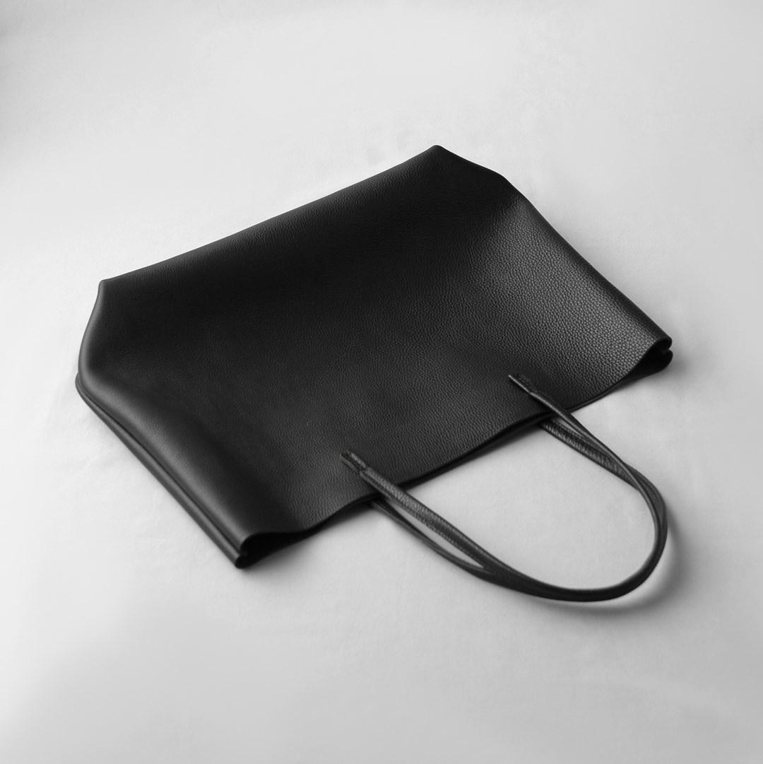 kumosha hand stitched leather totebag proA SL