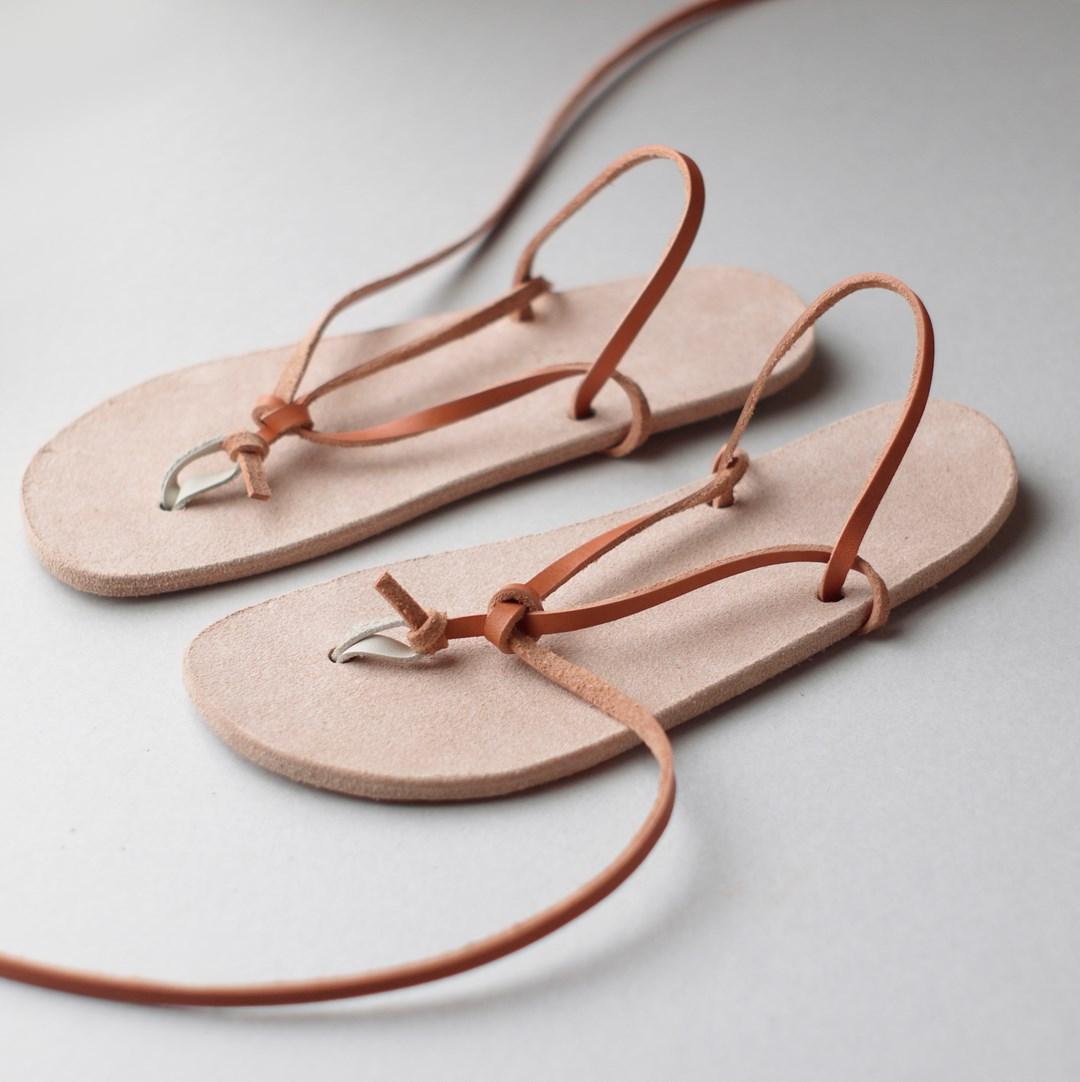 kumosha walking leather sandal huarache3