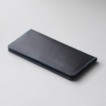 kumosha's hand stitched leather longwallet type1+