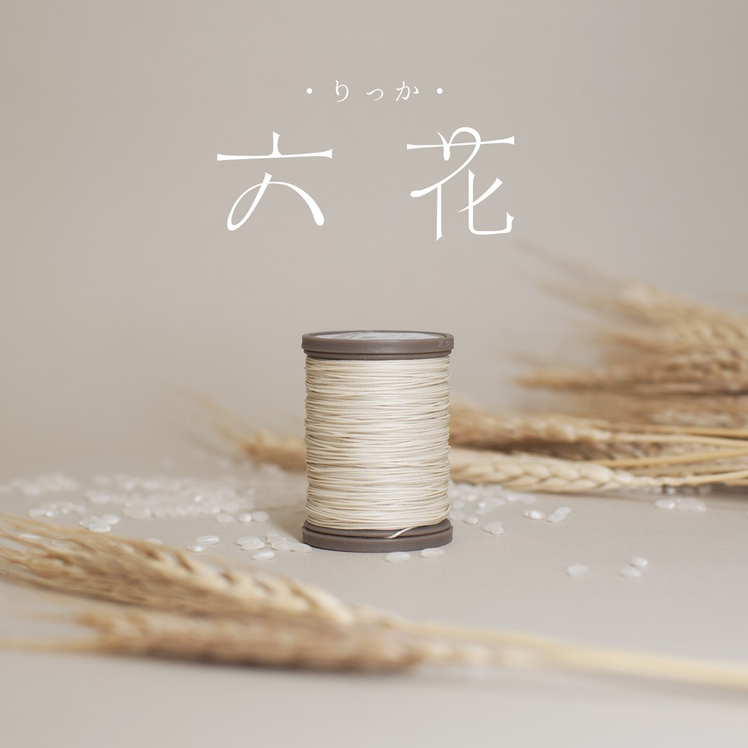 waxed linen thread rikka snowflake