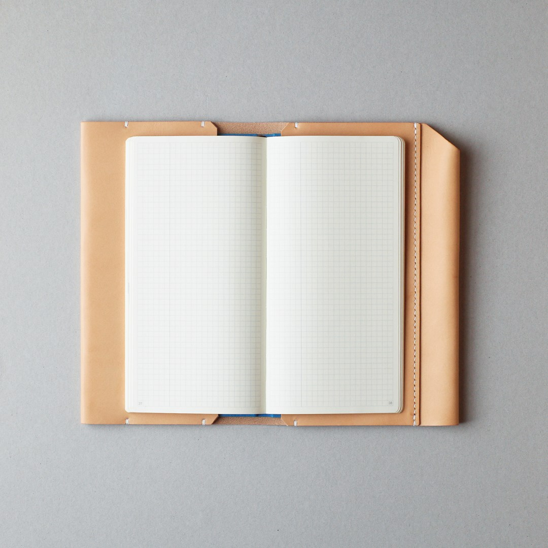 生成りのほぼ日手帳カバー1型WEEKSサイズをつくる