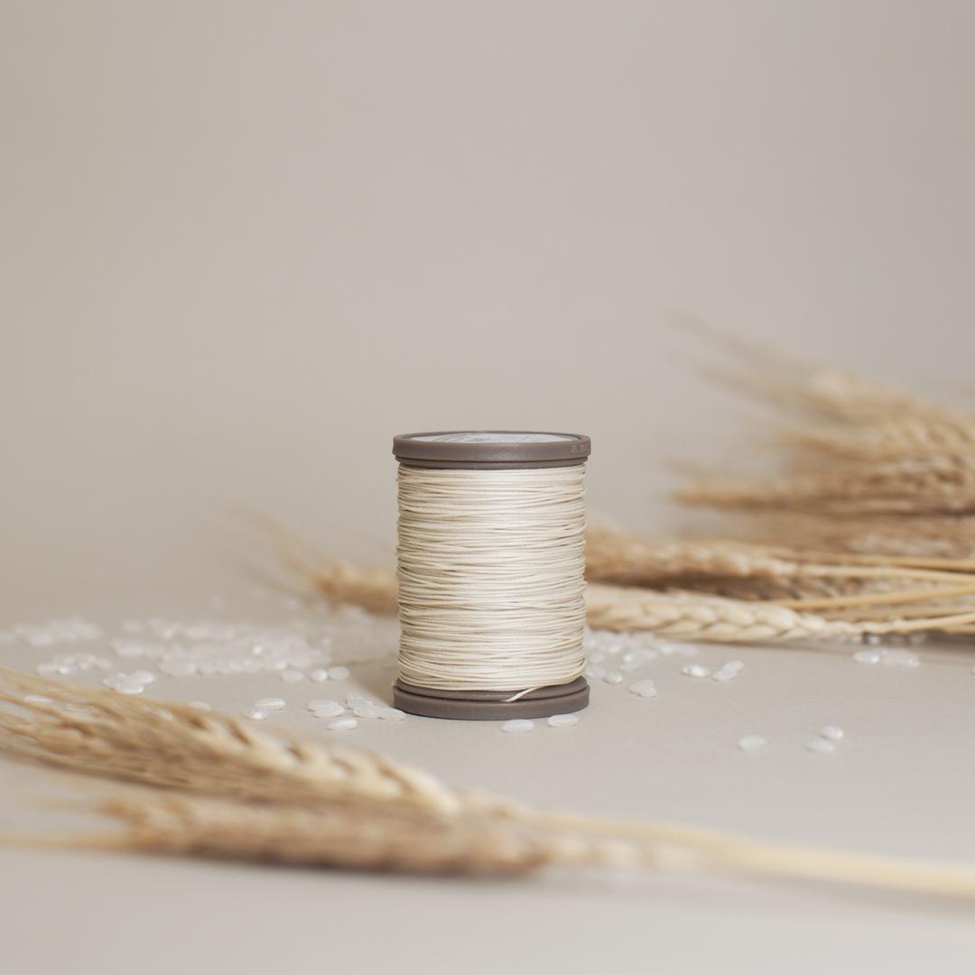 革用ロウ引きリネン糸『六花』の販売を開始いたしました