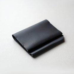 紺の能率手帳・モレスキンノートカバー1型をつくる