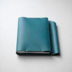 青いほぼ日手帳オリジナルカバーをつくる