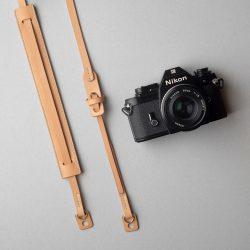 生成りのカメラストラップ2型をつくる