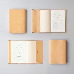 【くも舎】ブックカバー2型 文庫サイズ