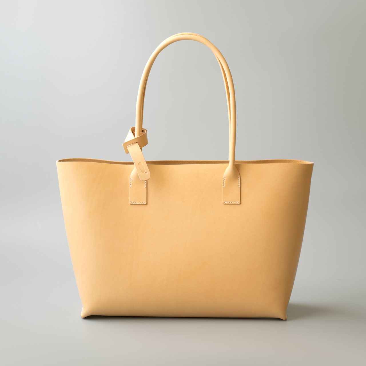 kumosha hand stitched leather tote bag type02