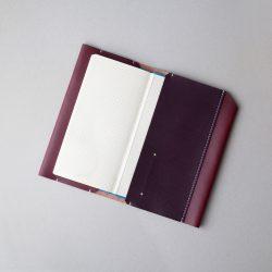 2色コンビのほぼ日手帳カバー1型WEEKSサイズをつくる