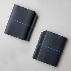 紺のほぼ日手帳カバー1型オリジナルサイズをつくる