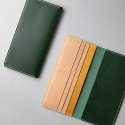 緑の長財布1型が完成しました