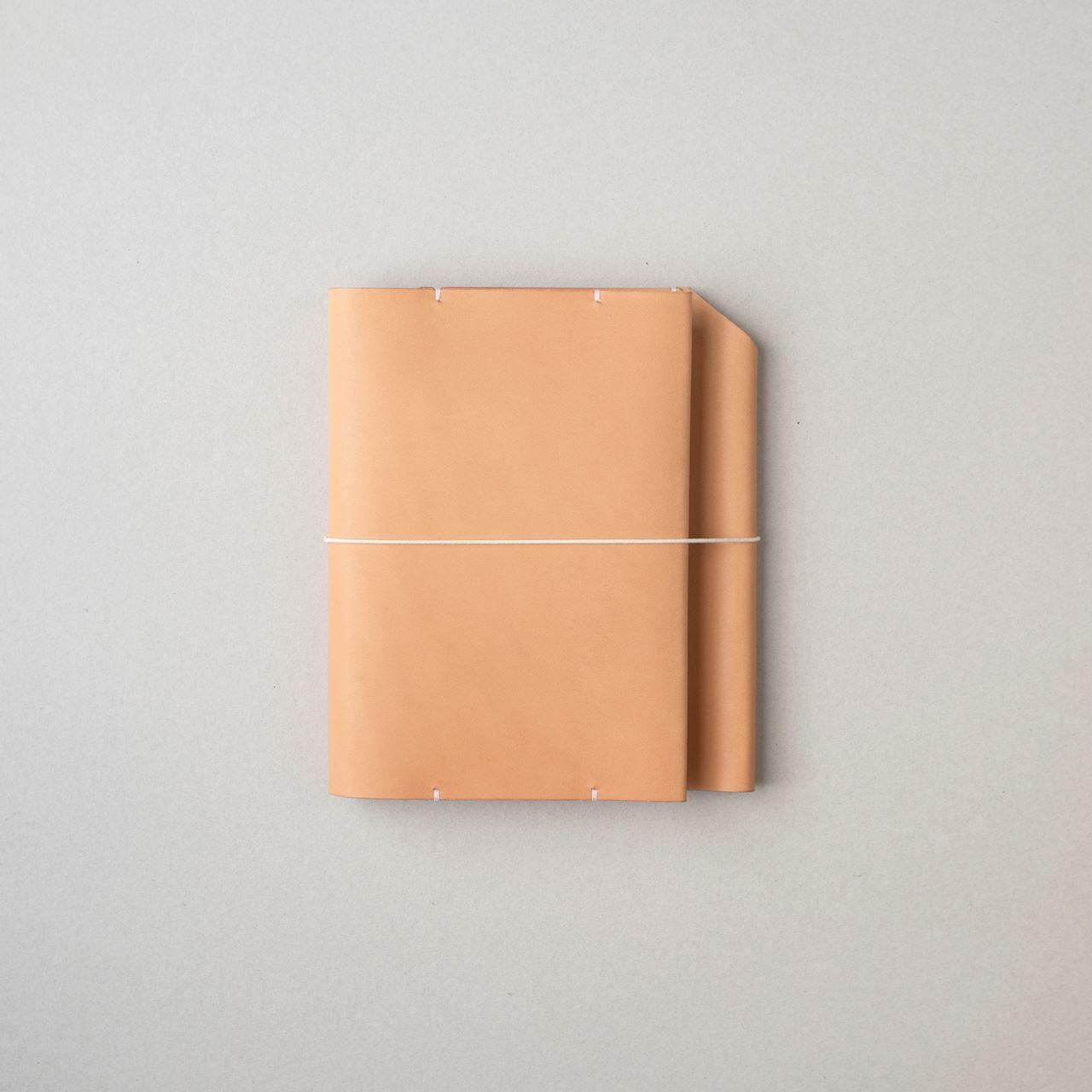 生成りのほぼ日手帳カバー1型オリジナルサイズをつくる