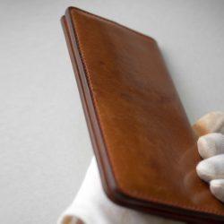 生成りの長財布1型のお直しをしました