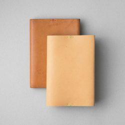生成りのブックカバー1型文庫サイズをつくる