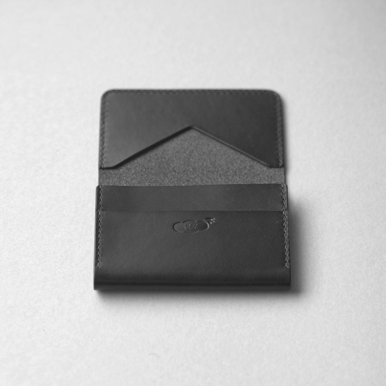 黒いカードケース3型をつくる