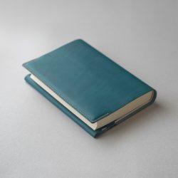 碧いブックカバー2型をつくる