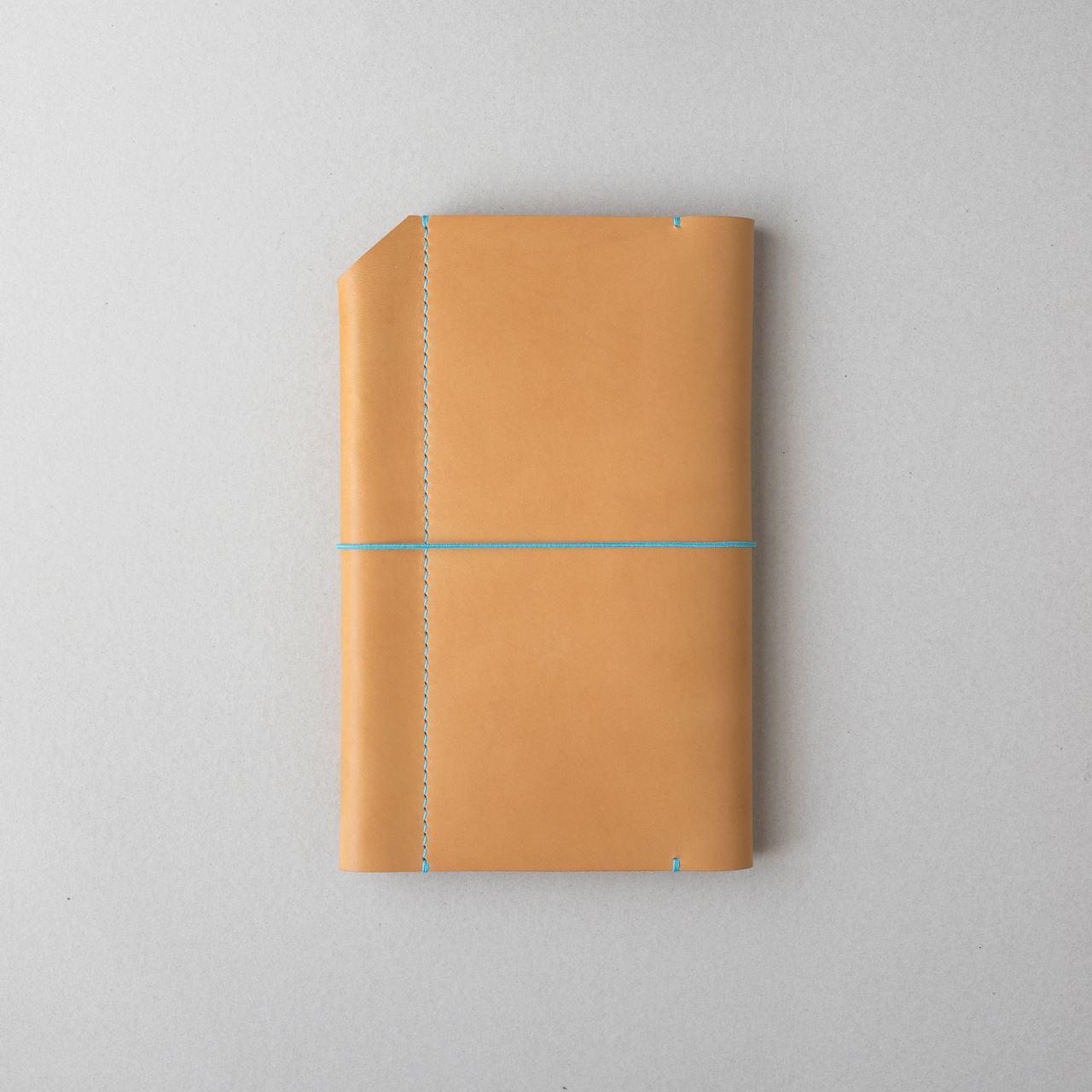生成りヴィンテージのほぼ日手帳カバー1型WEEKSサイズをつくる