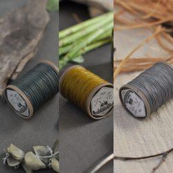 六花リネン糸に新しい3色が加わります