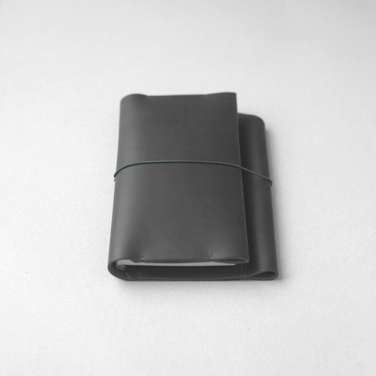 黒いほぼ日手帳カバー1型WEEKS MEGAサイズをつくる