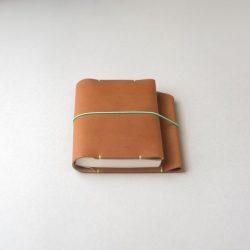 コニャック色のほぼ日手帳カバー1型オリジナルサイズをつくる
