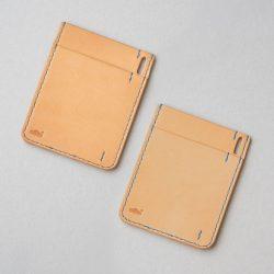 生成りのパスケース2型をつくる