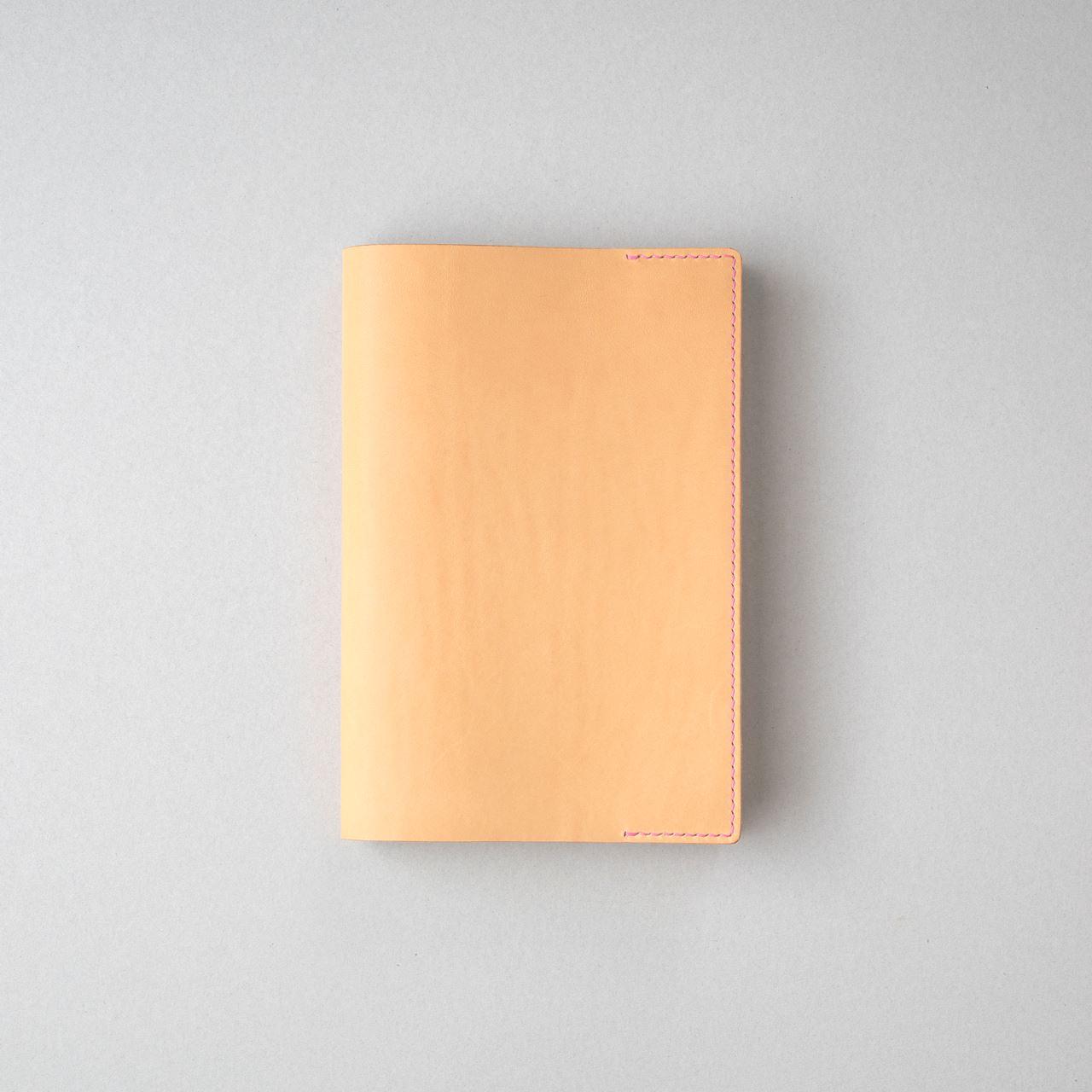 生成りのブックカバー2型四六判サイズをつくる