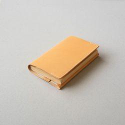 生成りのブックカバー2型をつくる