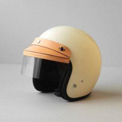 シールド付きヘルメットバイザーをつくる